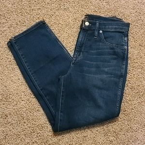 NWT. J.CREW High-Rise Vintage Straight Jeans